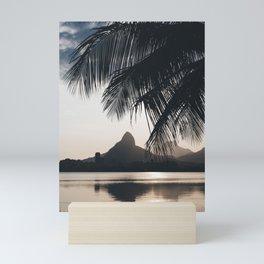 Lagoa in Rio de Janeiro, Brazil Mini Art Print
