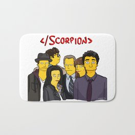 Scorpion Simpsonized Bath Mat