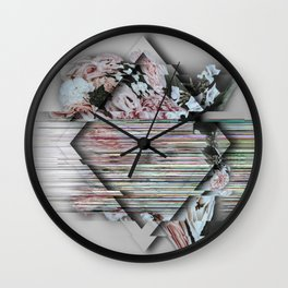 A Broken Definition Of Love Wall Clock