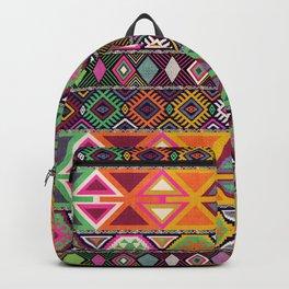 Aztec Artisan Tribal Bright Backpack