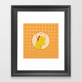 Sailor Venus Framed Art Print