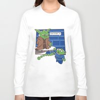 toy story Long Sleeve T-shirts featuring Toy Wars Story by Wacacoco