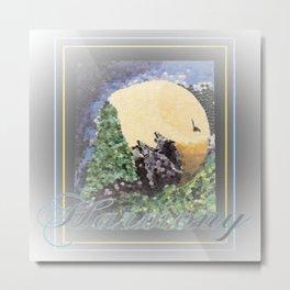 Harmony At Moonrise Metal Print