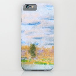12,000pixel-500dpi - Meadow Weeds - Arthur Bowen Davies iPhone Case