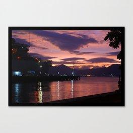 Olongapo Bay, Philippines Canvas Print