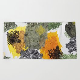 Carbonation Collection: spring Beach Towel