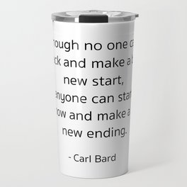 Starting – Carl Bard Travel Mug