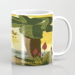 Vintage poster - Los Angees Coffee Mug