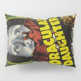 Dracula´s Daughter, vintage horror movie poster Pillow Sham