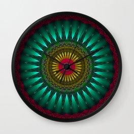 Gothic Mandala Wall Clock