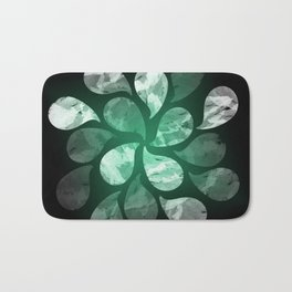 Abstract Water Drops XXX Bath Mat