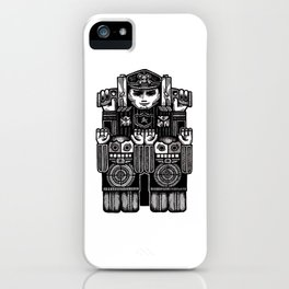 Hands Up. Don't Shoot. iPhone Case