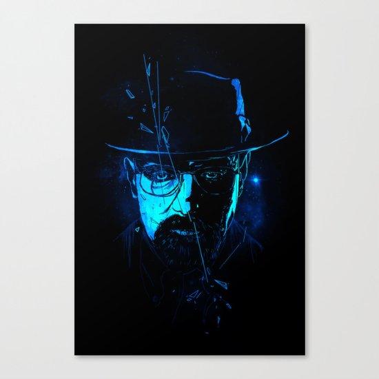 Mr. White (Crystal Blue) Canvas Print