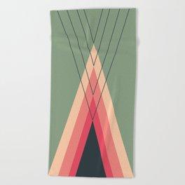 Iglu Rosegreen Beach Towel