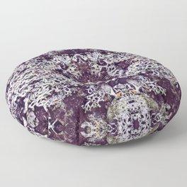 Mirrored Lichen Floor Pillow