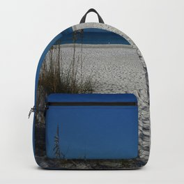 A Peaceful Day At A Marvelous Gulf Shore Beach Backpack