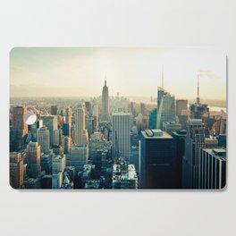 Good Evening New York City Cutting Board