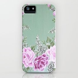 Jade Rose Collection iPhone Case