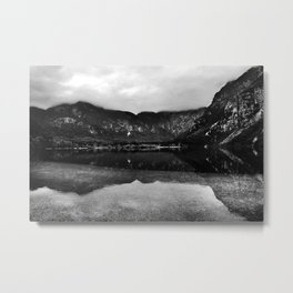 Lake Bohinj, Bled, Slovenia. Metal Print