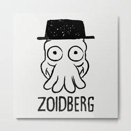 Zoidberg Metal Print