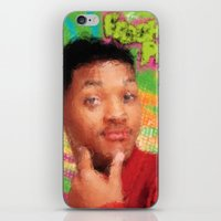 fresh prince iPhone & iPod Skins featuring Will Smith - Fresh Prince by Alice Z.