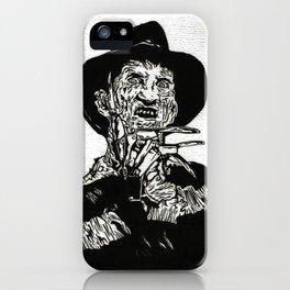 Freddy Krueger  iPhone Case