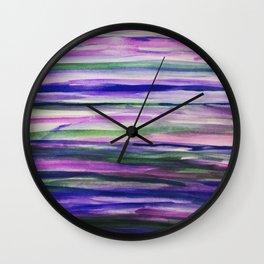I Like to Mauve It Wall Clock