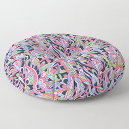 Foral design Floor Pillow
