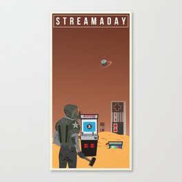 Stream A Day Canvas Print