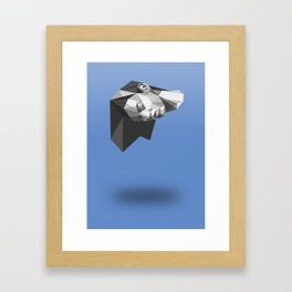 Keep your head up Framed Art Print