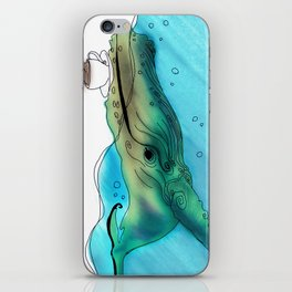 Coffee or Sea iPhone Skin