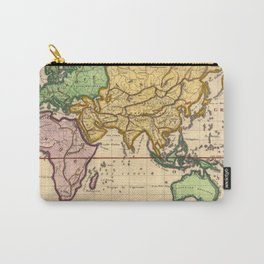 Vintage Map of the East Carry-All Pouch