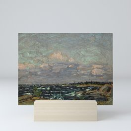 Tom Thomson Windy Day- Rough Weather in the Islands 1914. Canadian Landscape Artist Mini Art Print