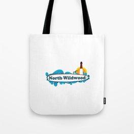 North Wildwood - New Jersey. Tote Bag