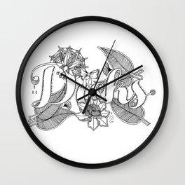 dicks Wall Clock