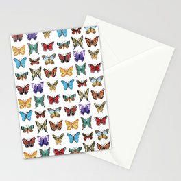 Butterflies (Papillons) Stationery Cards