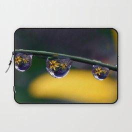 tripple yellow petals Laptop Sleeve