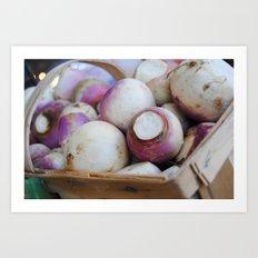 turnips? Art Print