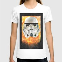 stormtrooper T-shirts featuring Stormtrooper by Mishel Robinadeh
