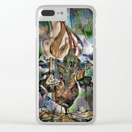 Death of Emoticons Clear iPhone Case