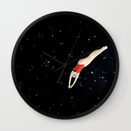 Dive into the Universe Wall Clock