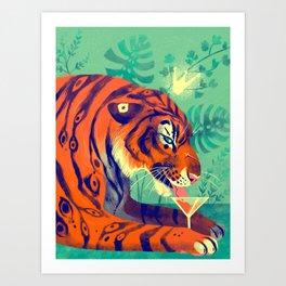 Tiger King Art Print