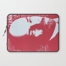 Russia, URSS Vintage Poster, Lenin Laptop Sleeve