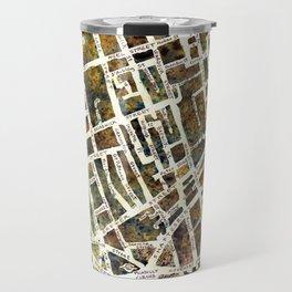 Soho London Map Travel Mug