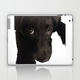 Chocolate Labrador Puppy Laptop & iPad Skin