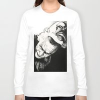joker Long Sleeve T-shirts featuring Joker by Sinpiggyhead