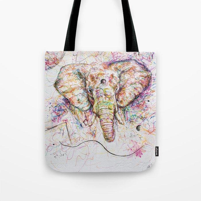 Elephant // Sananga Tote Bag