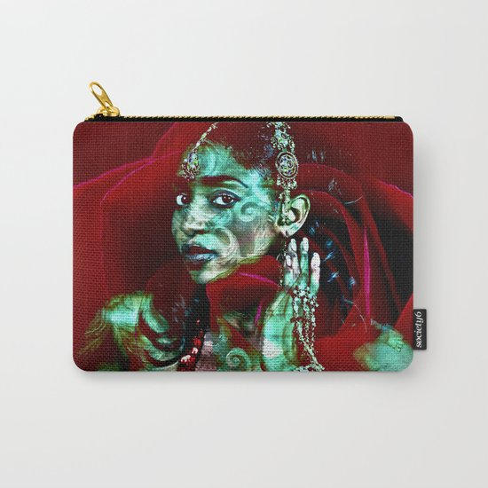 ORIENTAL ROSE Carry-All Pouch