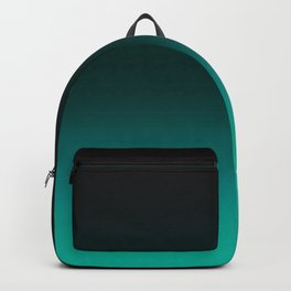 Ombre Turquoise Backpack