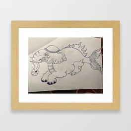 Bhoeda :olifant Framed Art Print